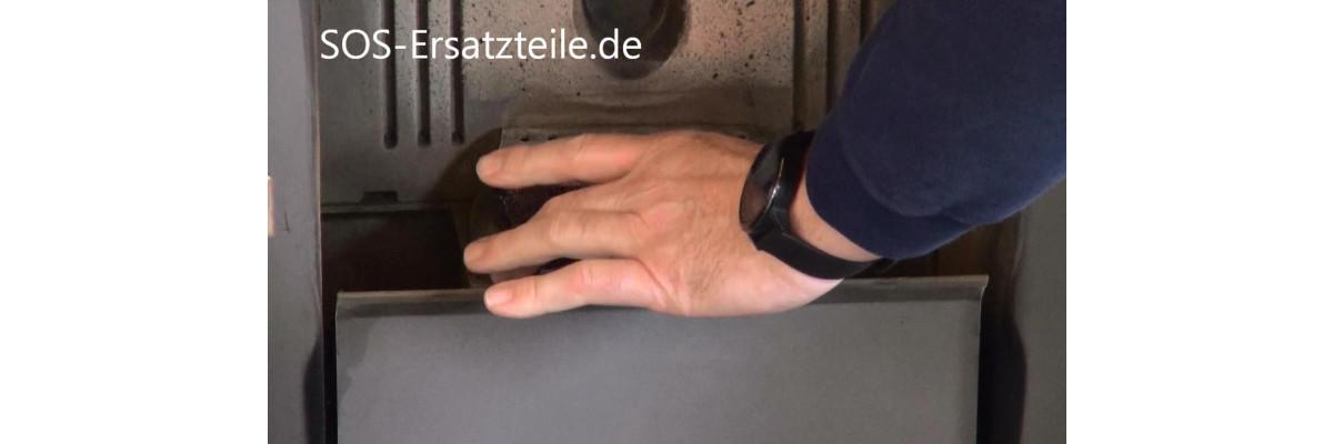 Einen Pelletofen mit defekten Glühzünder starten - Pelletofen defekt zünden