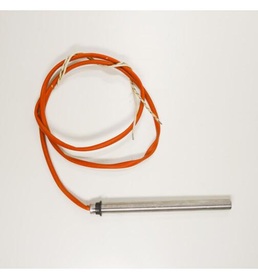Glühzünder für Palazzetti und Olsberg Pelletöfen, 350 W, 230V mit Anschlagring, L=150 mm, Ø = 12,5 mm Zündwiderstand, Zündpatrone