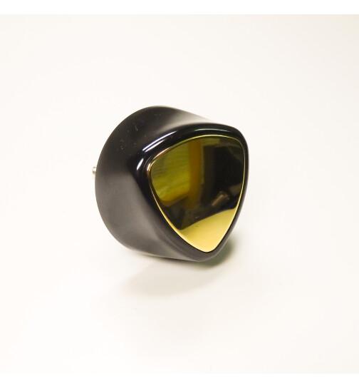 Herdgriff, Handrad für LHS.3 Serie und ZEH, Handrad schwarz, Spiegel gold von Lohberger