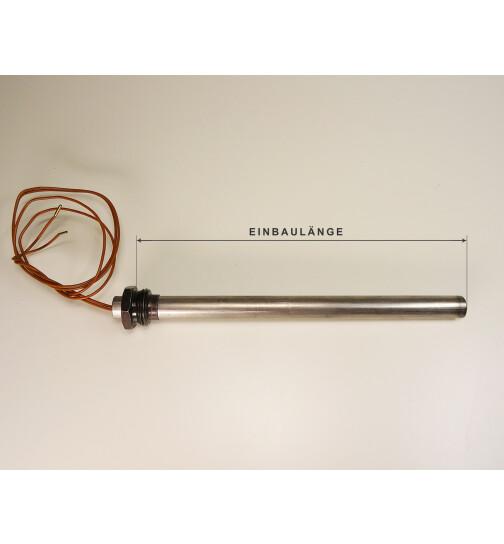 Glühzünder für Palazzetti Pelletöfen, 350 W, 1/2 Zoll Gewinde, L = 180, Ø = 12,5 mm, Zündwiderstand