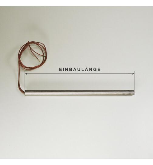 Glühzünder für Thermorossi Pelletöfen 250 W, ohne Gewinde, L = 188mm, Ø = 9,5 mm, Zündwiderstand, Zündpatrone