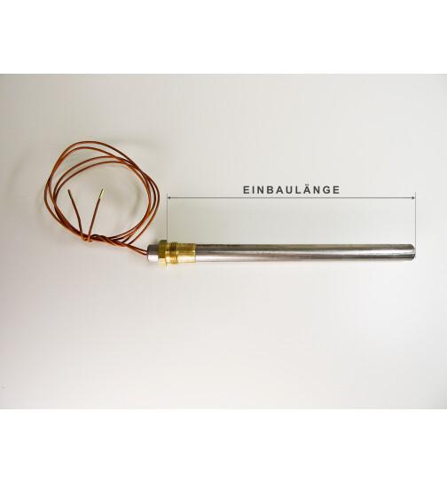 Glühzünder für Thermorossi Pelletöfen, 350 W, 3/8 Zoll Gewinde, L = 180 mm, Ø = 12,5 mm, Zündwiderstand, Zündpatrone