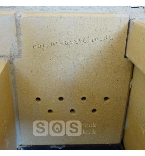 Heizraum-Schamottstein einzeln zur Heizraumrückwand für Lohberger LHS 75 - 105, Rega, DH und Integral Herde ab Baujahr 1996