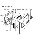 Backrohrtür komplett für LHS/Rega 75 und 90 von Lohberger