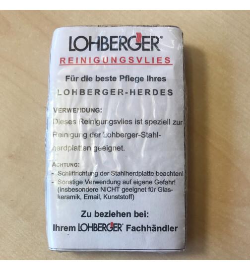 Reinigungsvlies für alle Lohberger Stahlherdplatten 2 Stück