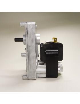 Getriebemotor, Schneckenmotor von Mellor FB1171, 1,5 rpm, Wellen-Ø = 9,5 mm für Edilkamin, Montegrappa, Envirofire und MCZ
