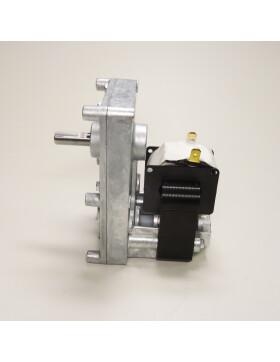 Getriebemotor, Schneckenmotor von Mellor FB1330, 1,0 rpm, Wellen-Ø = 9,5 mm für Palazzetti, Royal, Kalor, Piazzetta, Thermorossi, Mcz und Cola
