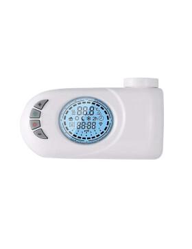 Heizstab, Heizpatrone 300 bis 600 Watt mit digitalem programmierbaren Thermostat für Badheizkörper, Handtuchtrockner