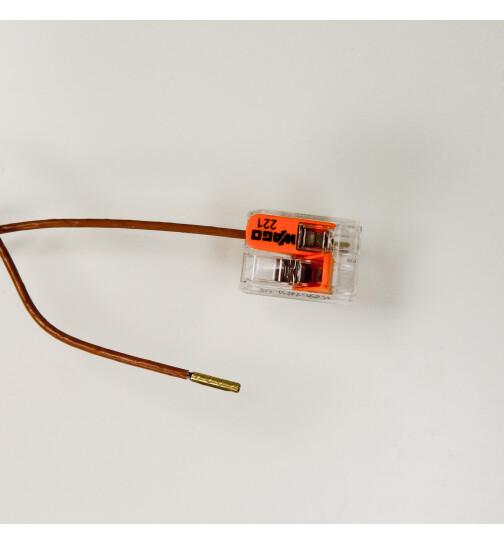 Glühzünder für Haas & Sohn Pelletöfen, 300 W, 3/8 Zoll Gewinde, L = 160 mm, Ø = 12,5 mm, Zündwiderstand, Zündpatrone mit dickerer Isolierung und Feuchtigkeitsschutz