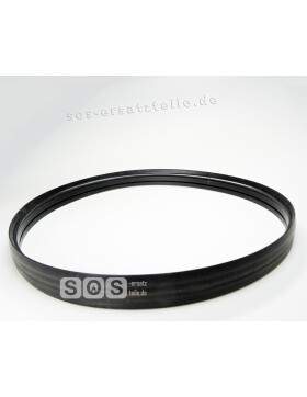 Silicon-Rahmen, Dichtgummi für Schauglas der Backrohrtür für ZEH 90, ZEH 110 und LHS 105