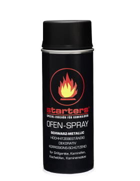 Starters Ofen - Spray - Schwarz - Metallic