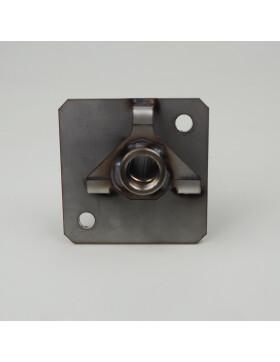 Zündrohr Niro für keramische runde Glühzünder für Eco-Pellet 302/309/310