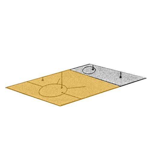 Herdplatte für ZEH 110 Herd von Lohberger, Stahlplatte groß