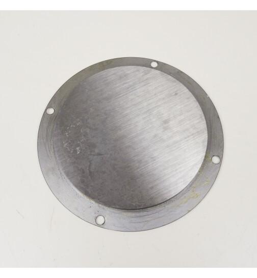 Abdeckung für Rauchrohranschluss oben D 120 mm für Stahlherdplatten von Lohberger