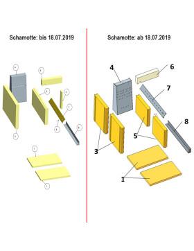 Haas und Sohn Herd HA 75.5-A, DH 75.5 und DH 85.5 Schachtstein bi2 Halbstein 7418500098800