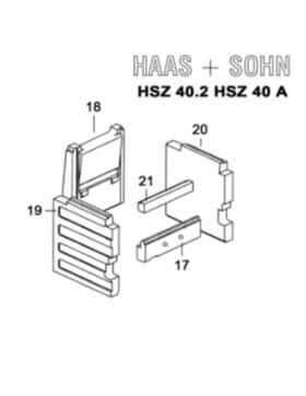 Haas und Sohn Herd HSZ 40 und 50 Schachtstein hinten 0714010015402
